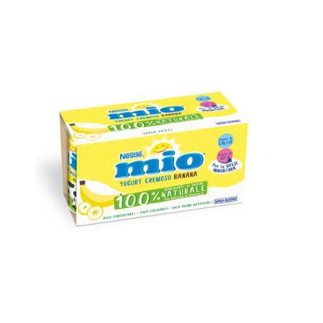NESTLE' MIO YOGURT CREMOSO BANANA 2X125 GR