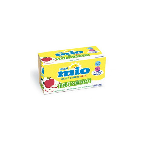 NESTLE' MIO YOGURT CREMOSO MELA 2X125 GR