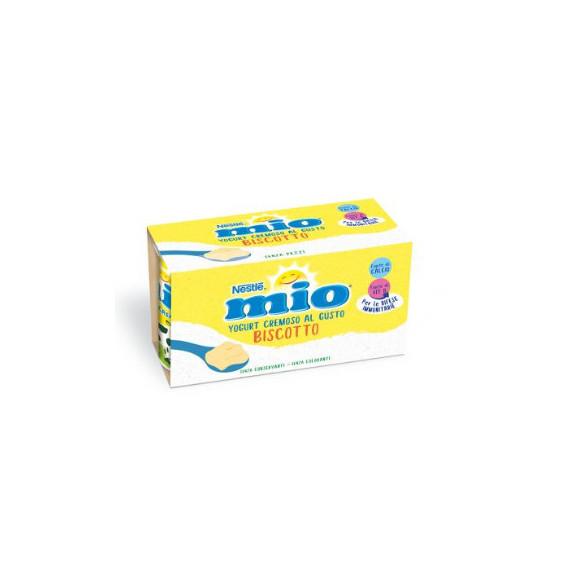 NESTLE' MIO YOGURT CREMOSO BISCOTTO 2X125 GR
