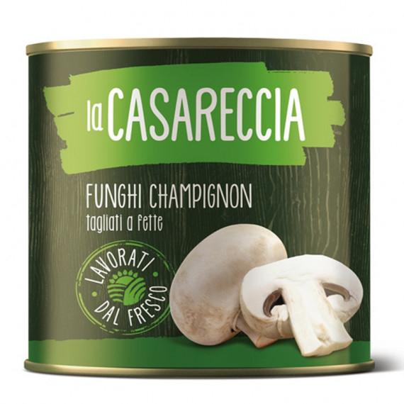 LA CASARECCIA FUNGHI CHAMPIGNON LATTA KG.3