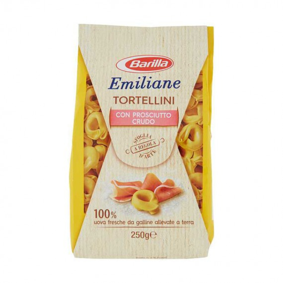 EMILIANE TORTELLINI AL PROSCIUTTO CRUDO GR.250
