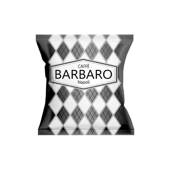 BARBARO CAFFE CIALDE NERO CORPOSO BOX PZ.50