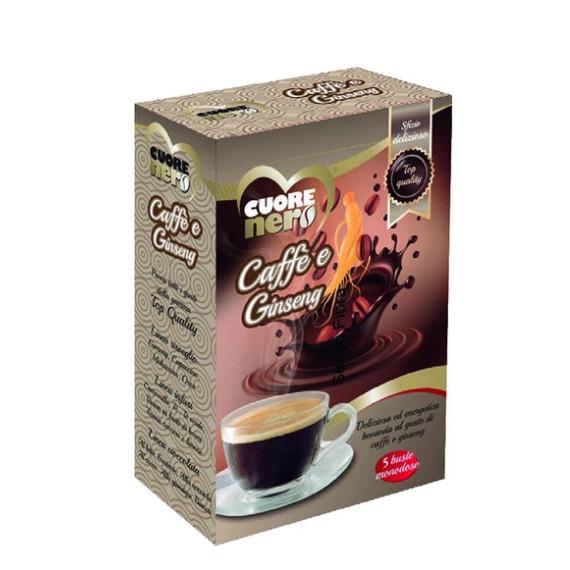 CUORE NERO CAFFE E GINSENG MONODOSE GR.100