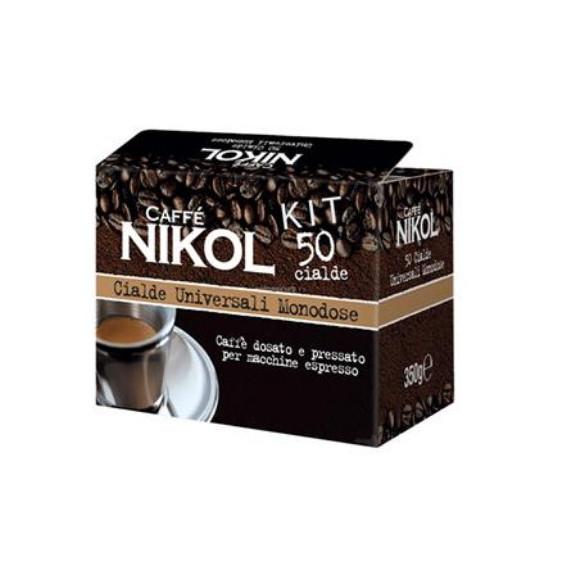NIKOL CAFFE' IN CIALDE CON KIT PEZZI 50