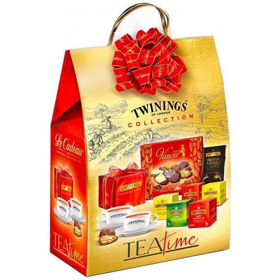 SHOPPERS TEA TIME TWININGS COLLECTION PEZZI 8 LE CADEAU