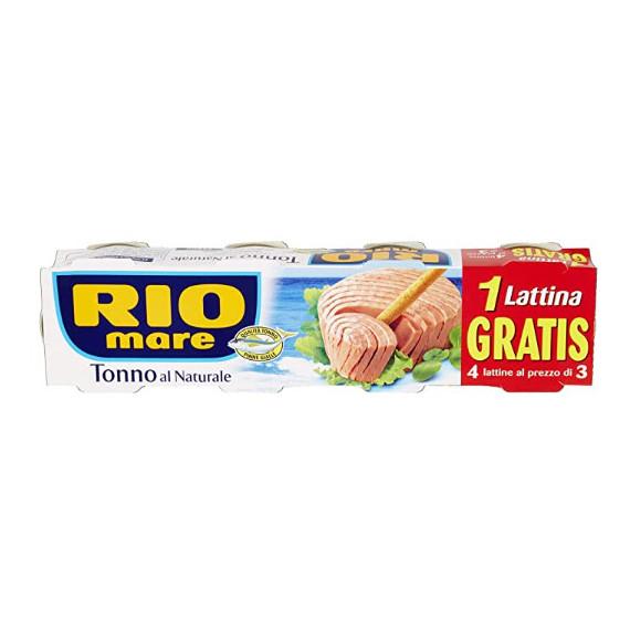 RIO MARE TONNO AL NATURALE 3+1X80 GR