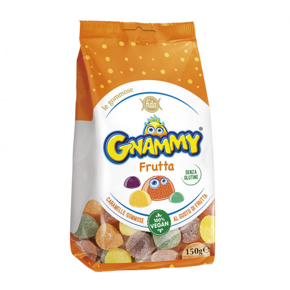 CARAMELLE GOMMOSE ALLA FRUTTA  GR.150 GNAMMY
