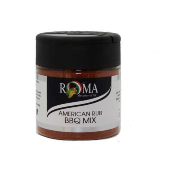 ROMAFINE AMERICAN RUB BBQ MIX GR.95 CON TAPPO SPARGITORE