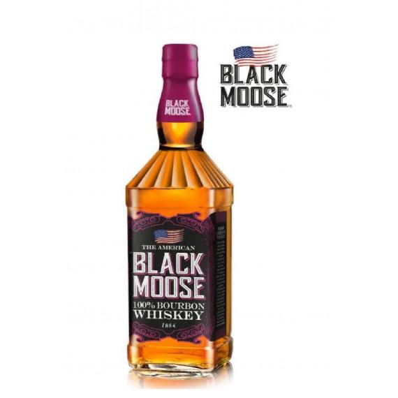 BLACK MOOSE WHISKEY BOURBON 100% LT.1
