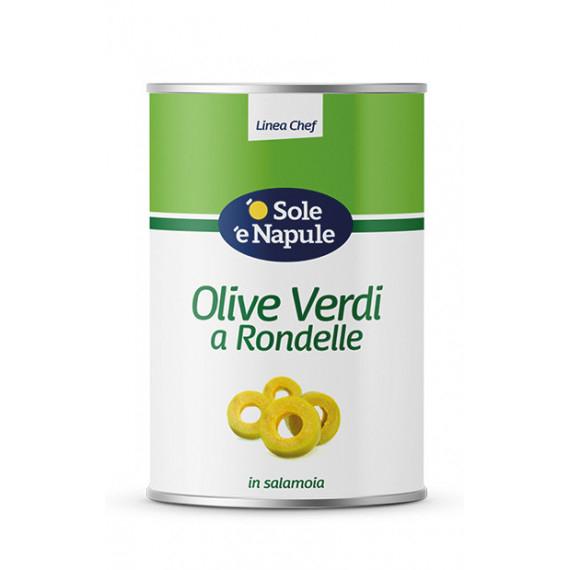 OLIVE VERDI RONDELLE KG.4,100 O SOLE E N.