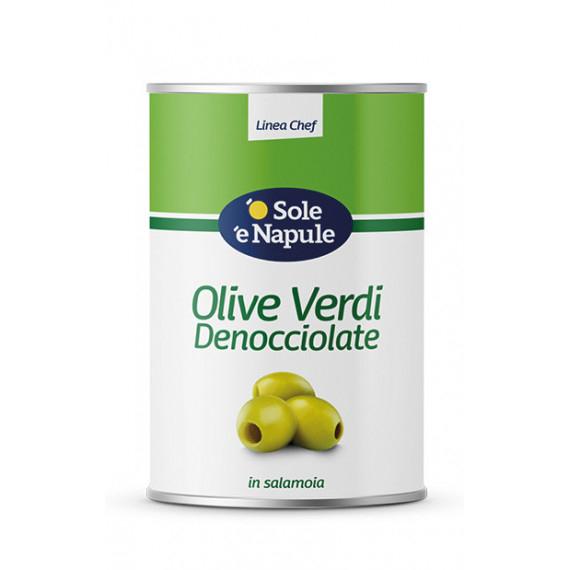 OLIVE VERDI DENOCCIOLATE KG.4,100 O SOLE E N.