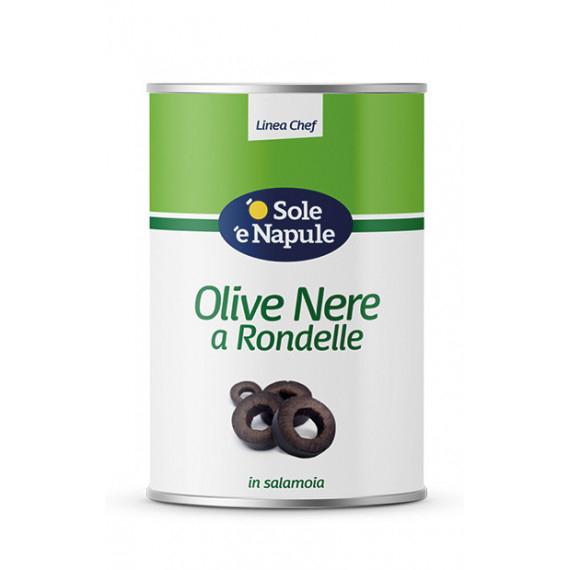 OLIVE NERE RONDELLE KG.4,100 O SOLE E N.