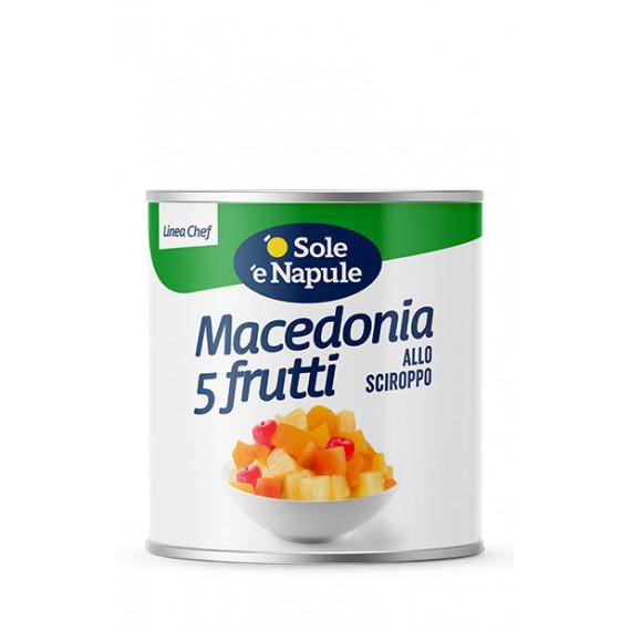 MACEDONIA 5 FRUTTI SCIROPPATE KG.2.6 OSOLE NAPULE