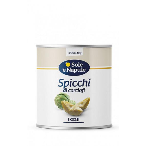 CARCIOFI A SPICCHI AL NATURALE KG.2,5 O SOLE E NAPULE
