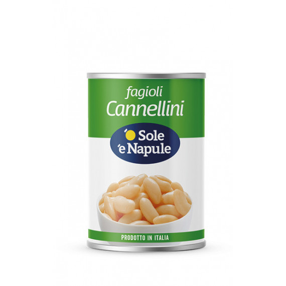 FAGIOLI CANNELLINI LATTA GR.400 O SOLE