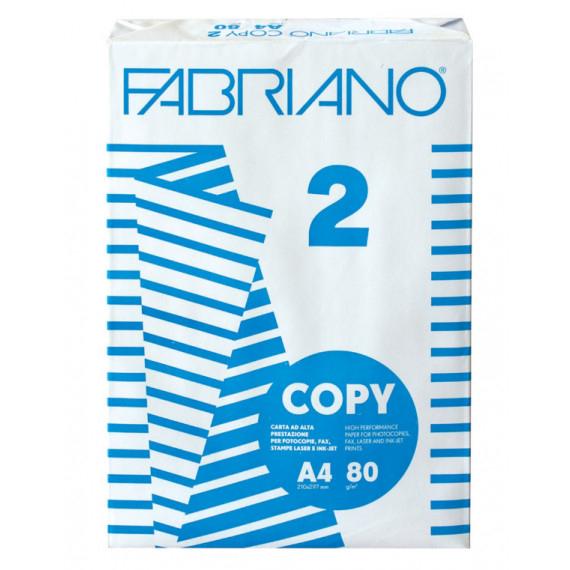 FABRIANO CARTA FOGLI A4 COPY PZ.500 GR.80