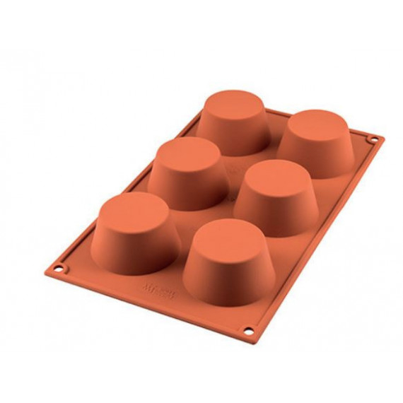 SILIKOMART STAMPO MUFFIN SILICONE D.69 MM H35