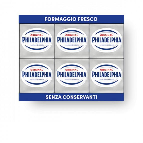 PHILADELPHIA CLASSICA PORZIONATA 6X25GR