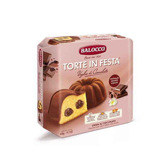 BALOCCO TORTE IN FESTA CIOCCOLATO GR.400