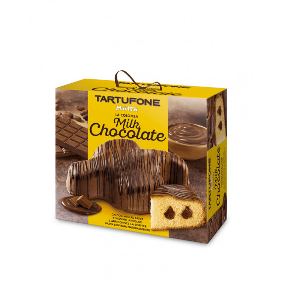 MOTTA TARTUFONE COLOMBA MILK CHOCOLATE GR.650
