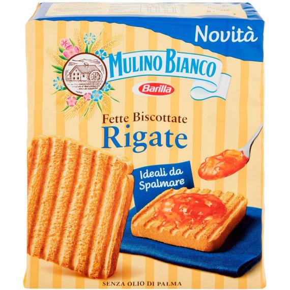 MULINO BIANCO FETTE BISCOTTATE RIGATE GR.315
