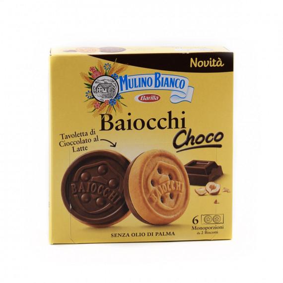 MULINO BIANCO BAIOCCHI CHOCO GR.144