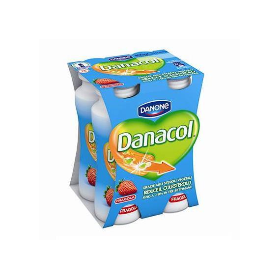 DANACOL FRAGOLA 4X100GR