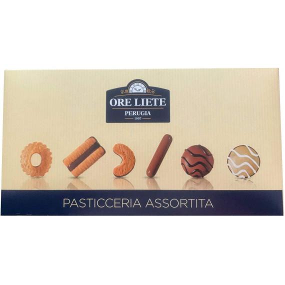 ORE LIETE CONFEZIONE ASTUCCIO PASTICCIERA ASSORTITA GR.300