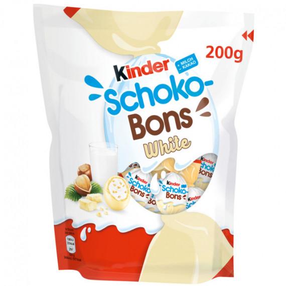 KINDER SCHOKO BONS WHITE GR.200