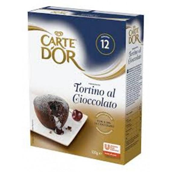 CARTE DOR TORTINO CIOCCOLATO CUORE CALDO GR.520