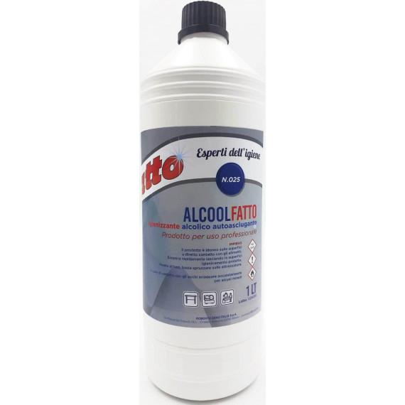 FATTO ALCOOL IGIENIZZANTE PROFESSIONAL N.25 LT.1 PEZZI 60