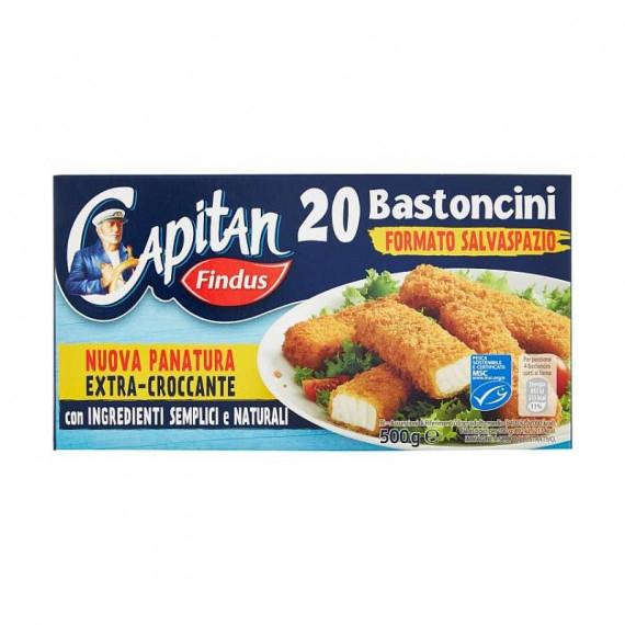 FINDUS BASTONCINI DI PESCE 20 PEZZI GR.500