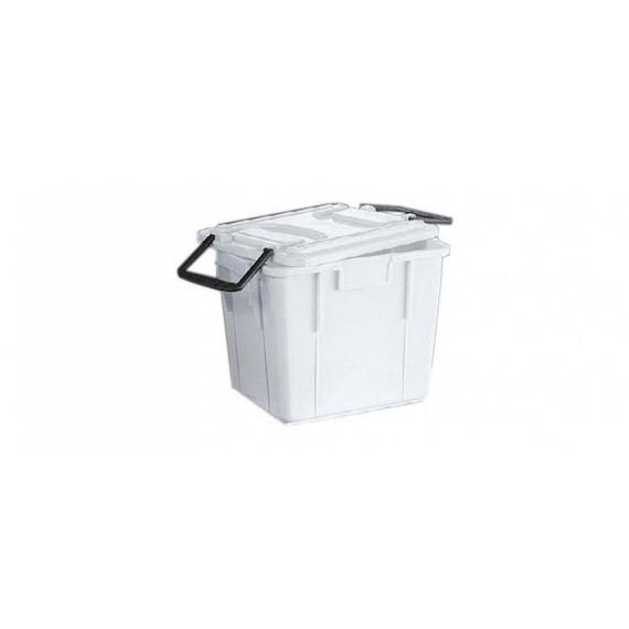 SSS HORECA CASSETTA FOOD BOX CON COPERCHIO CM.28X38 H.29,6 LT.20