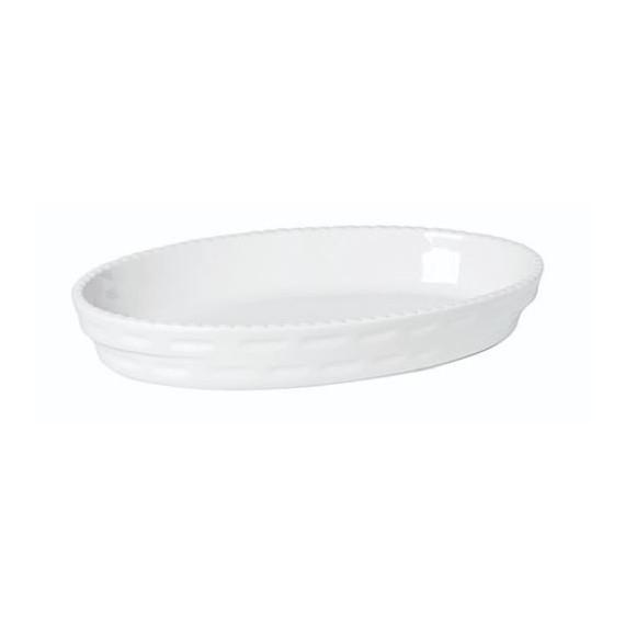 TABLE PIROFILA OVALE IMPILABILE PORCEL. CM 32X20X5 F1002