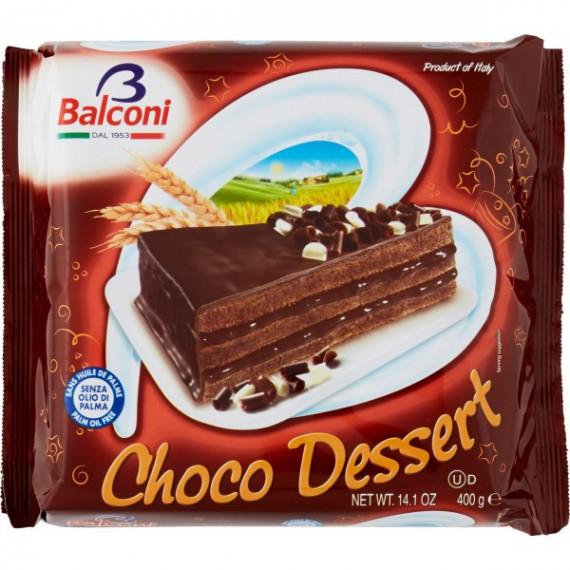 BALCONI TORTA CHOCO DESSERT GR.400