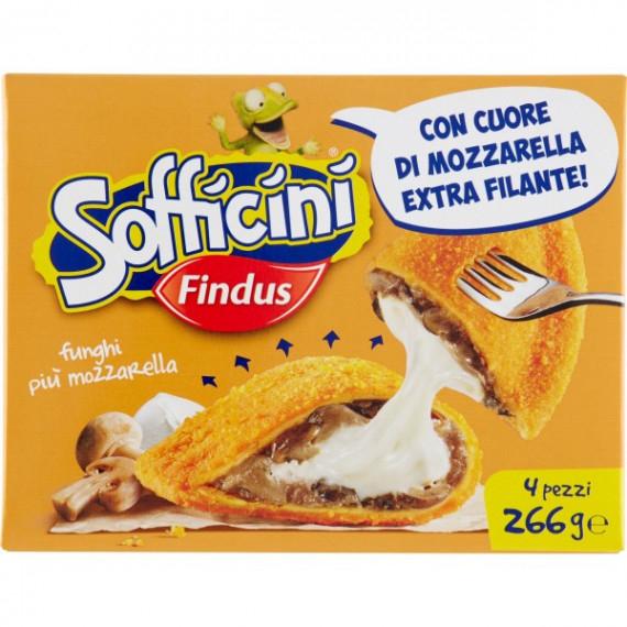 FINDUS SOFFICINI FUNGHI E MOZZARELLA GR.266