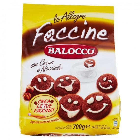 BALOCCO FACCINE BISCOTTI GR.700