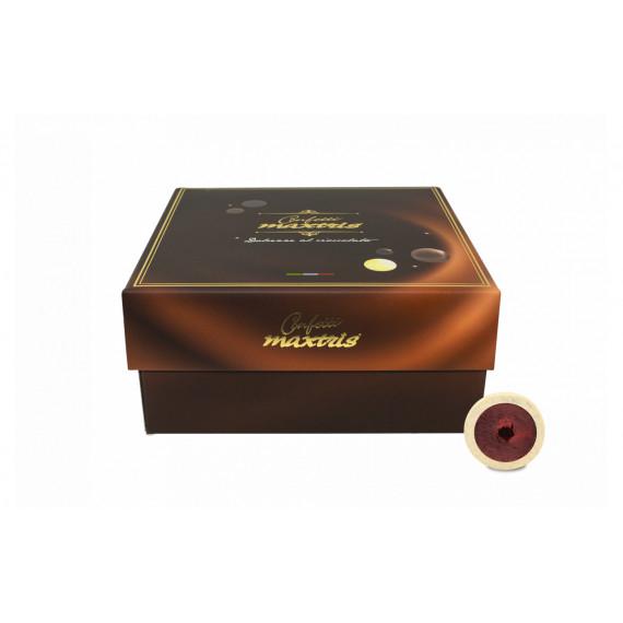 MAXTRIS PRALINE AMARENA E CIOCCOLATO BIANCO BOX DA KG.3