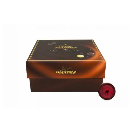 MAXTRIS PRALINE AMARENE E CIOCCOLATO FONDENTE AL 57% BOX DA KG.3