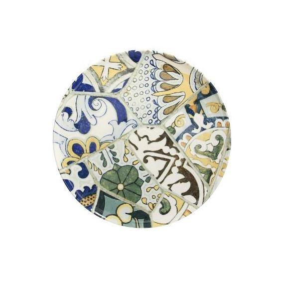 tognana piatto piano maiolica seaside cm.30,8 pezzi 6
