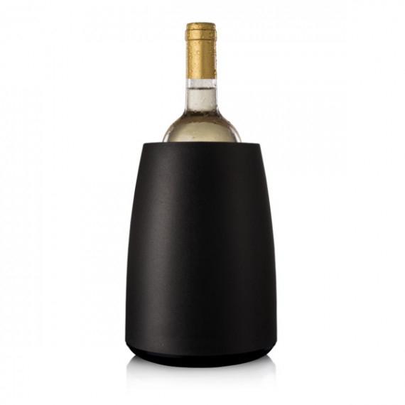 vacu vin portabottiglie raffreddavino con mattonella refrigerante estraibile Ø cm.15 h.20,5