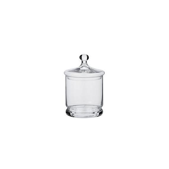 Copia di Copia di Copia di barattolo in vetro soffiato per centrotavola o confettate Ø cm.11,5 h.33