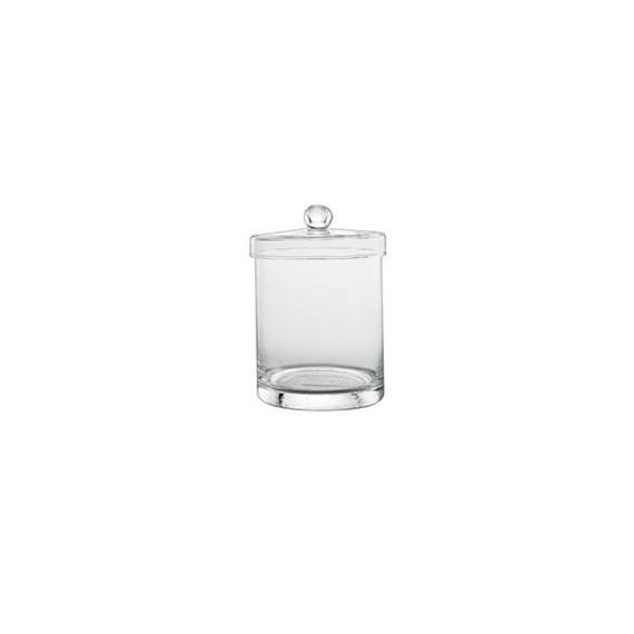 Copia di Copia di barattolo in vetro soffiato per centrotavola o confettate Ø cm.11,5 h.33