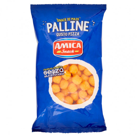 AMICA CHIPS PALLINE GUSTO PIZZA GR.125