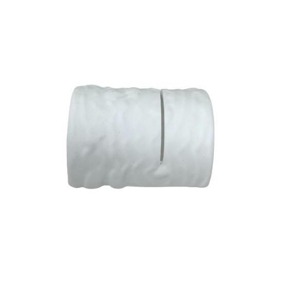Mri poggia posate in porcellana forma tronco cm.9,5x8,4 pezzi 6