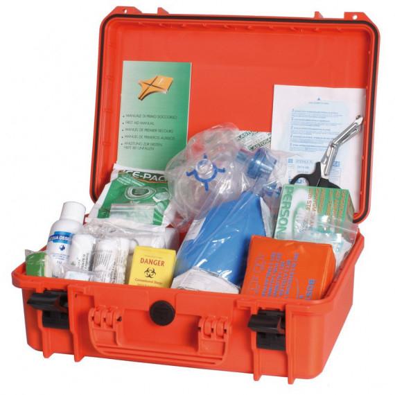 Medial valigetta primo soccorso completa di kit medicazione cm.41x30