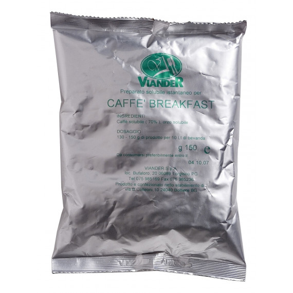 VIANDER CAFFE' MISCELA 70% CONTINENTALE BREAKFAST GR.150
