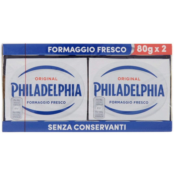 PHILADELPHIA CLASSICA TWIN 2X80GR