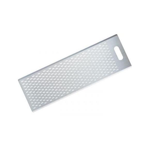 Gi metal asse pala pizza a metro in alluminio rettangolare forata con maniglia cm.70x40