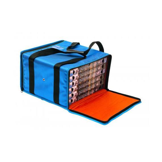 Gimetal borsa termica per trasporto fino a 5 pizze cm.36x36 h.20